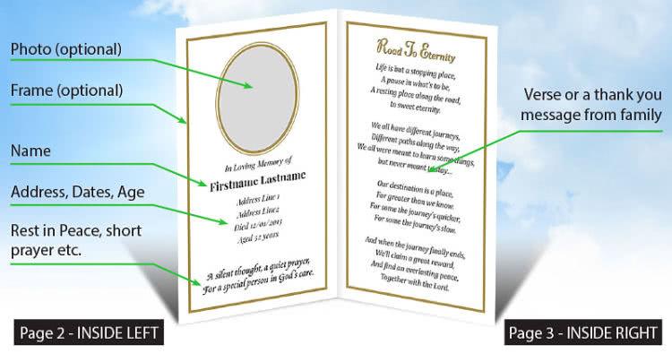 standard-memorial-card-wording-text-inside