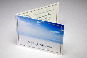 ACF6 - funeral thankyou card