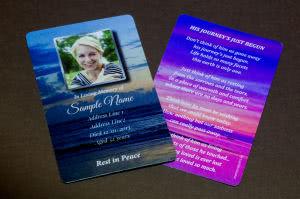 Wallet Memorial Card MPW05