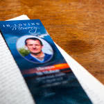 Bookmark on a book
