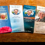 4 memorial bookmark designs