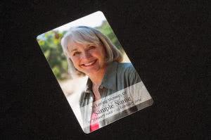 MPW-07 wallet memorial card, front