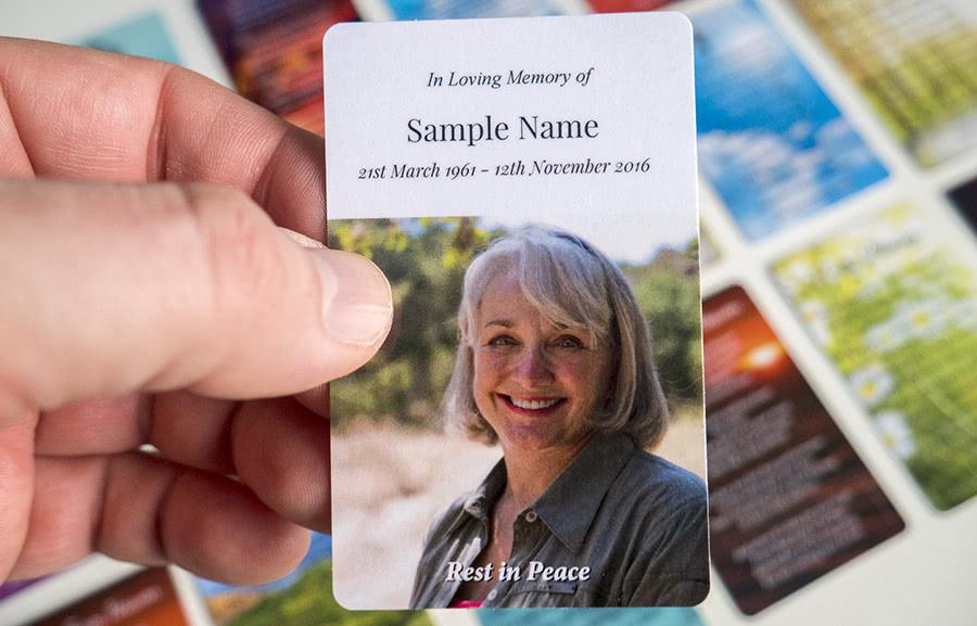 MPW-06 wallet memorial card