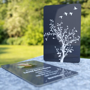 MPW10 wallet card with departing birds theme